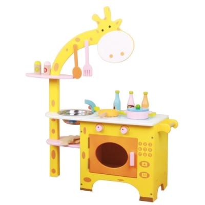 親親 木製長頸鹿廚房(MSN15029)