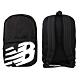 NEWBALANCE 中型後背包-肩背包 雙肩包 旅行包 NB BG01009GBK 黑白 product thumbnail 1