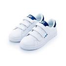 FILA 女潮流復古鞋-藍色 5-C603T-300