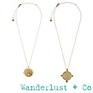 [時尚套組] Wanderlust+Co 星系+薩利亞項鍊組