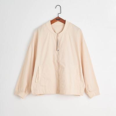 gozo-格子織紋布勞森外套(兩色)