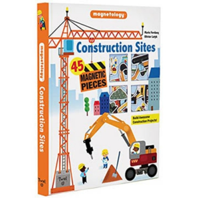 Construction Sites:Magnetology 建築工地遊戲磁鐵書