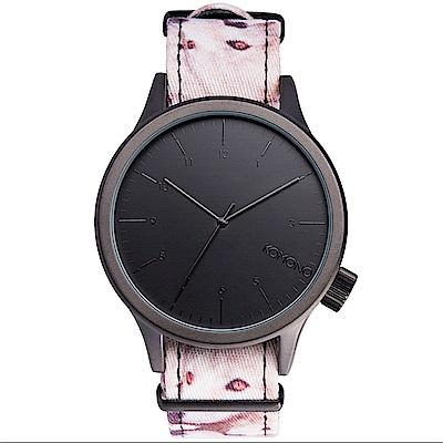 KOMONO Magnus Print 腕錶-與狼共舞/46mm