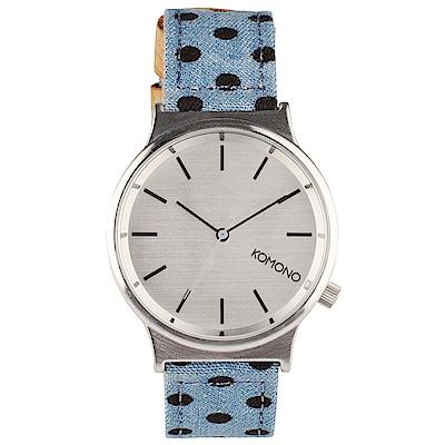 KOMONO Wizard Print 腕錶-復古點點/37mm
