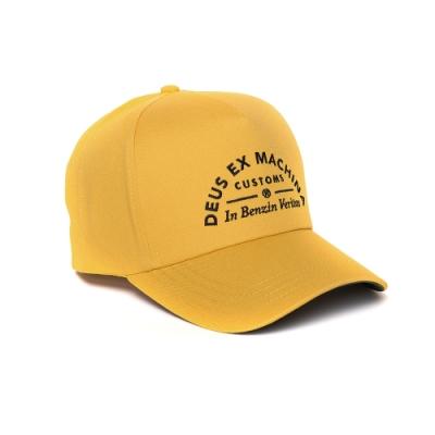 Deus Benzin Trucker-棒球帽 - 黃(男/女)