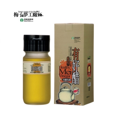 【信義鄉農會】有好醋-果釀梅醋(500g)