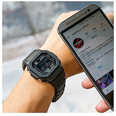 G-SHOCK經典款原型5600進化版複合式電波錶(GW-M5610BC-1)43.2mm