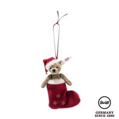 STEIFF德國金耳釦泰迪熊  Christmas Teddy Bear Ornament  聖誕泰迪熊飾品 (限量版)