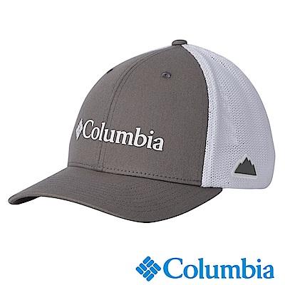 Columbia哥倫比 男女款-中性LOGO卡車帽-灰色 UCU94890GY