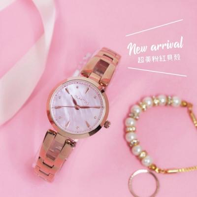 RELAX TIME 小資微甜系列微甜女錶(RT-71-8)-珍珠貝x玫塊金/28mm