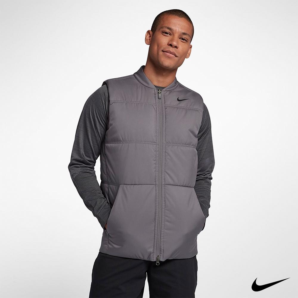 Nike 男 雙面穿保暖背心 灰 932304-036