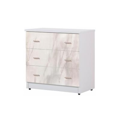 韓菲-韓菲-白色大理紋三屜塑鋼衣櫃-81.5x48x81.5cm