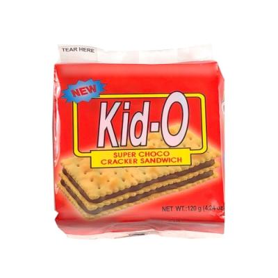 Kid-O日清 三明治餅乾-巧克力口味(120g)