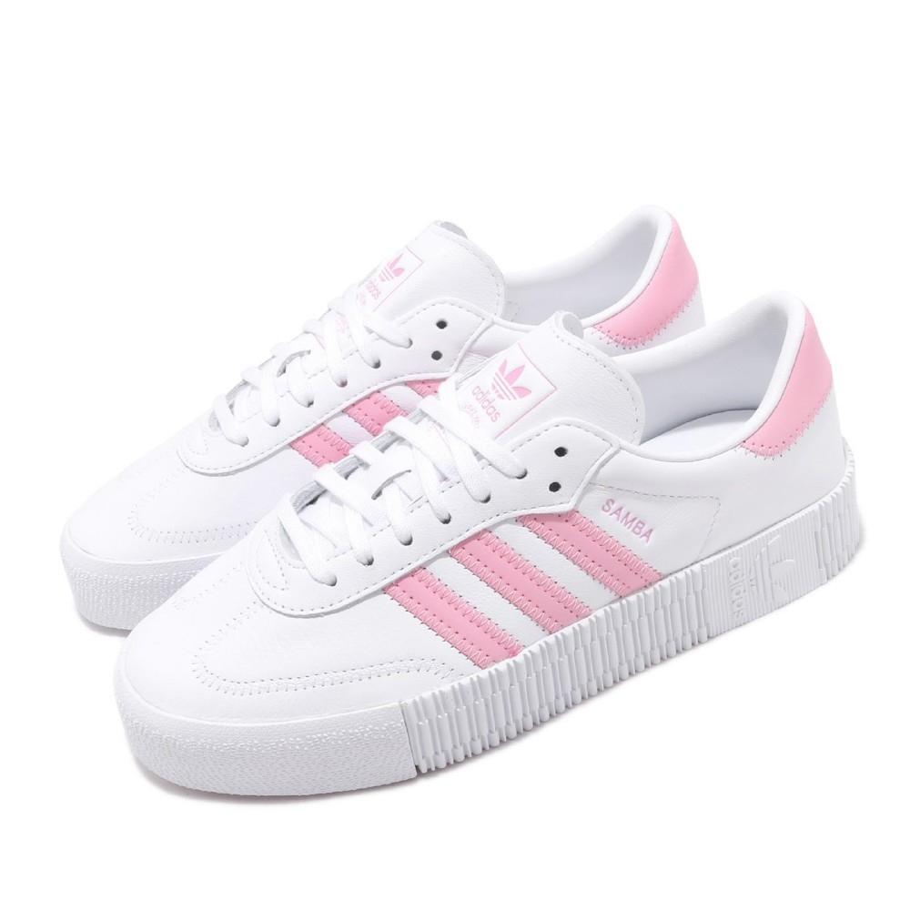 adidas 休閒鞋 Sambarose 復古 板鞋 女鞋