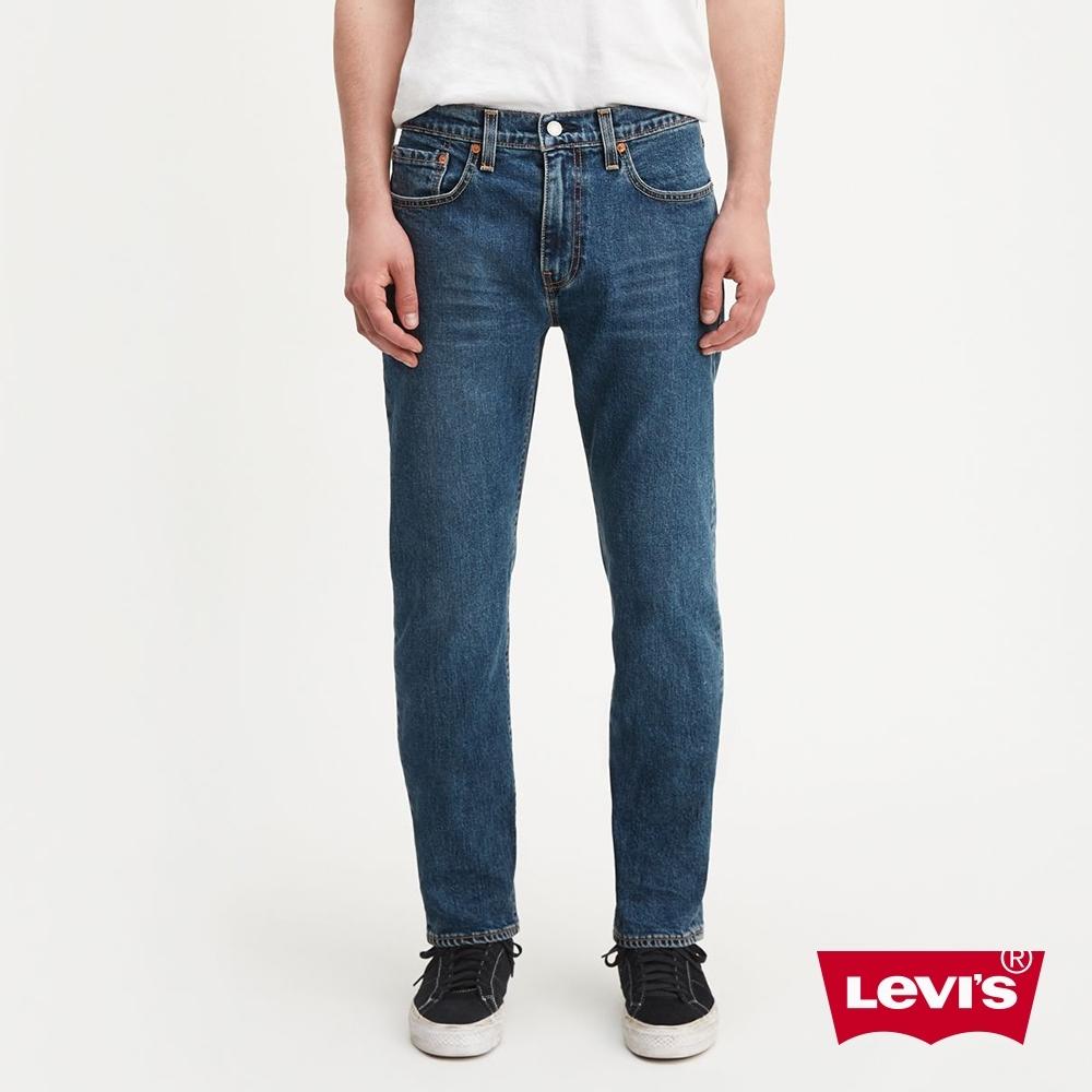 Levis 男款 上寬下窄 502 Taper牛仔褲 / Lyocell天絲棉 / 彈性布料 / 中藍基本款