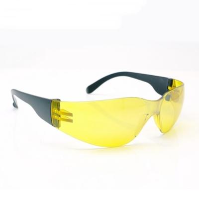 台灣製造PHOTOPLY貼身安全眼鏡防霧眼鏡070(適夜間ND2黃色鏡片;合台灣人臉型,亦抗UV故白天室外亦可)保護目鏡防飛沬防風眼鏡
