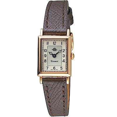 玫瑰錶Rosemont NS懷舊系列時尚腕錶(TNs012-rWa-GDB)