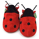 英國 Funky Feet 手工學步鞋 室內鞋 小瓢蟲 6-24M
