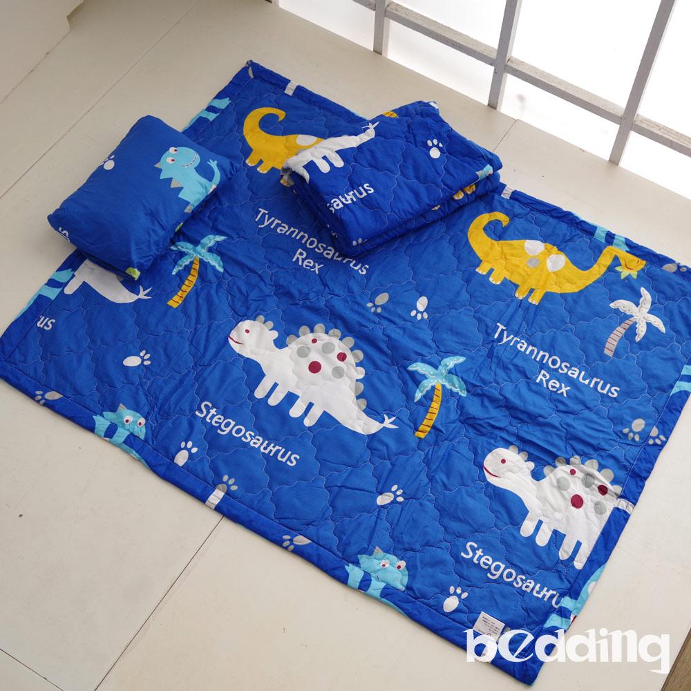 BEDDING-幼稚園必備-兒童鋪棉睡墊三件組-恐龍時代