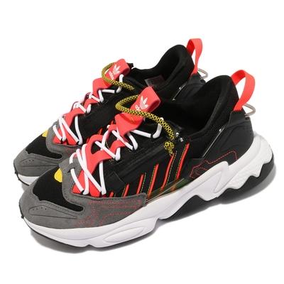adidas 休閒鞋 Ozweego ZIP 襪套 男女鞋 海外限定 愛迪達 老爹鞋 潮流 黑 紅 H67266