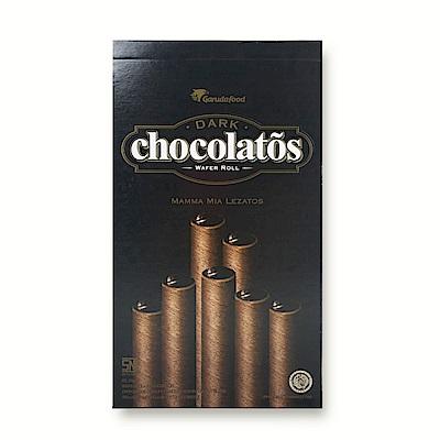 福伯 黑雪茄巧克力威化(320g)
