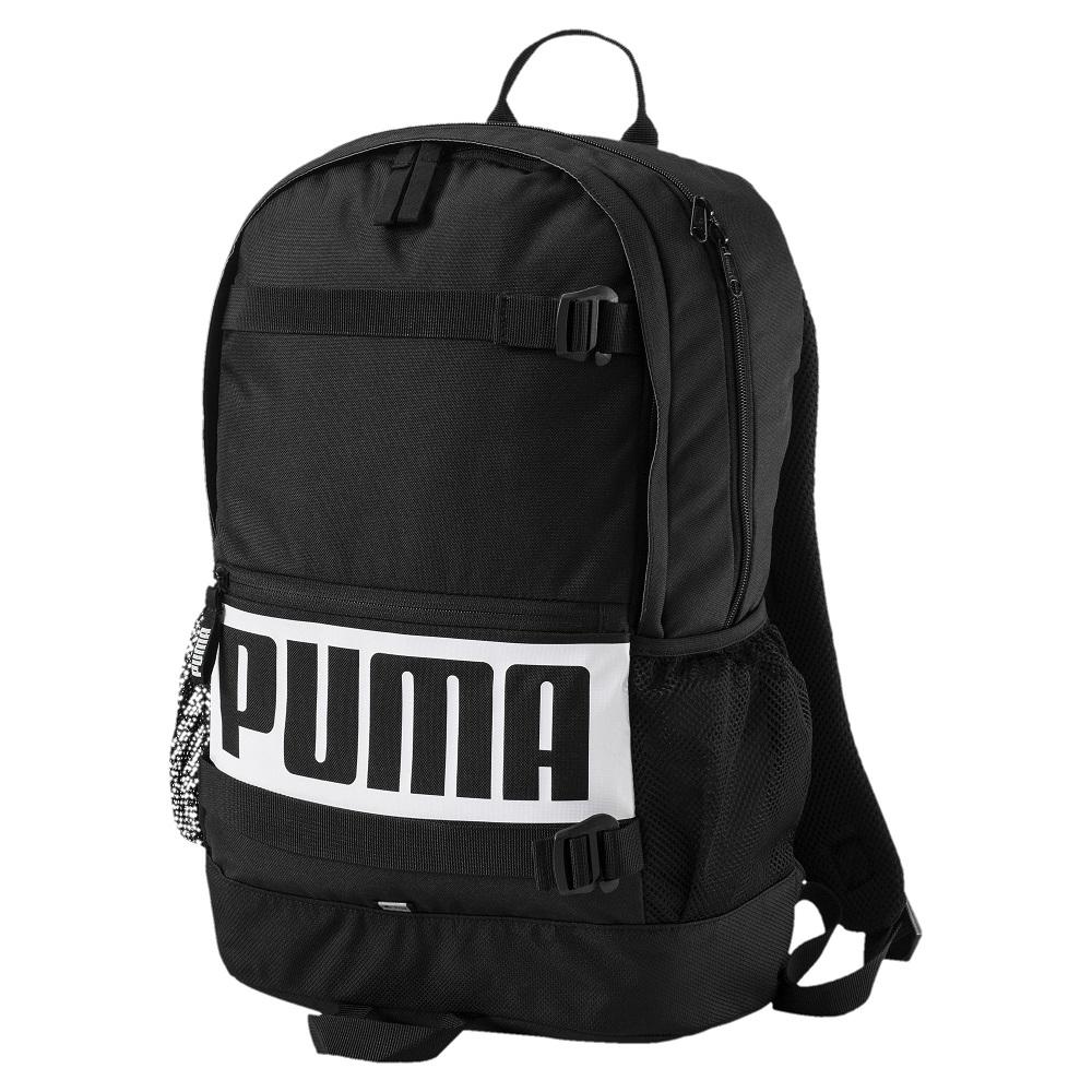 PUMA-男女PUMA Deck後背包-黑色
