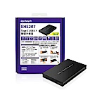 Uptech USB3.1 2.5吋硬碟外接盒-EHE207