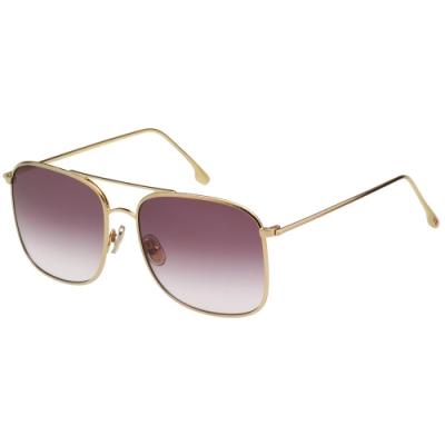 Victoria Beckham 維多利亞貝克漢 太陽眼鏡 (金色)VB202S