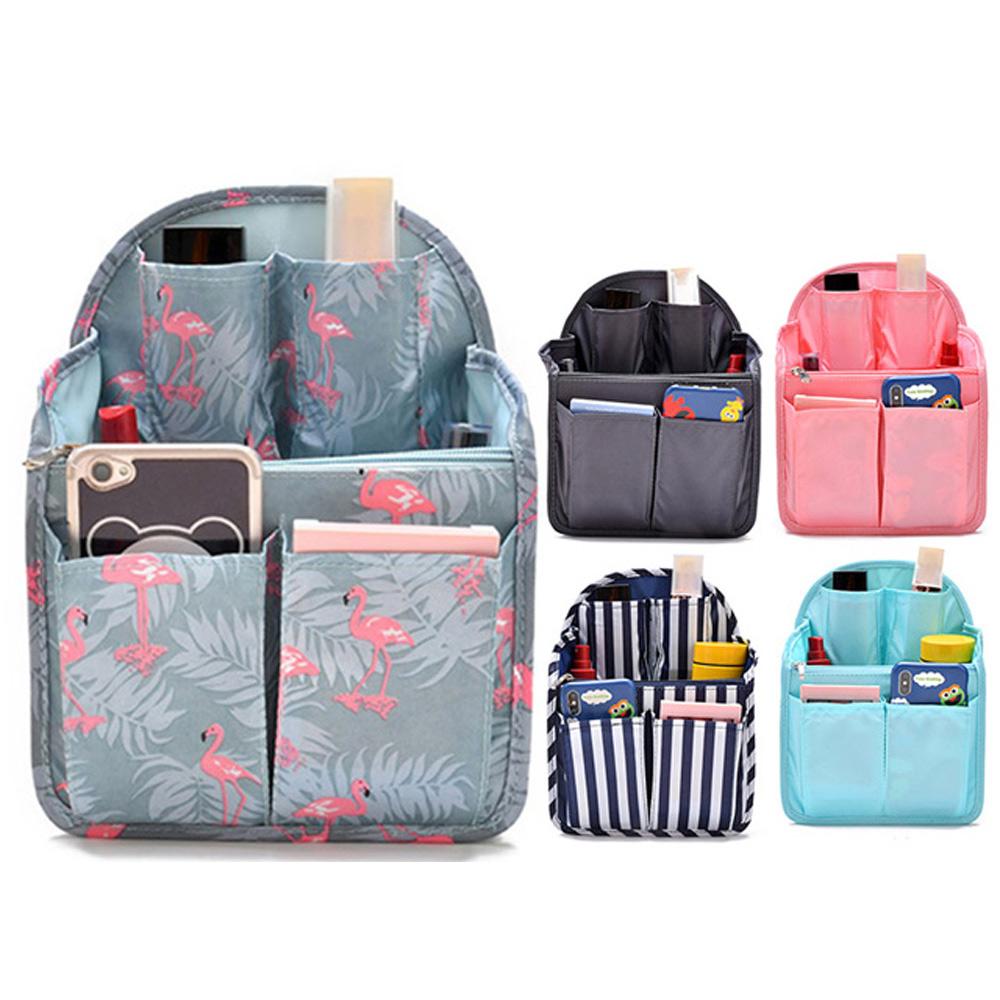 QHL 酷奇 大容量背包多功能隔層收納包中袋(9色)