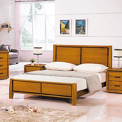 AS-華特實木雙人加大6尺雙人床-183x203x105cm