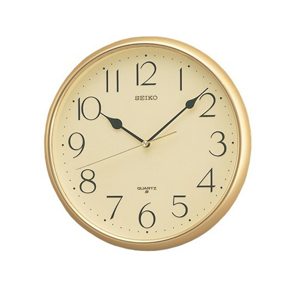 SEIKO 日本精工 標準型掛鐘 時鐘(QXA747G)28cm