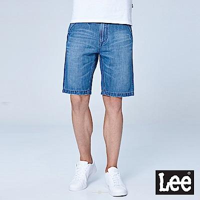 Lee 牛仔短褲/RG-淺藍色