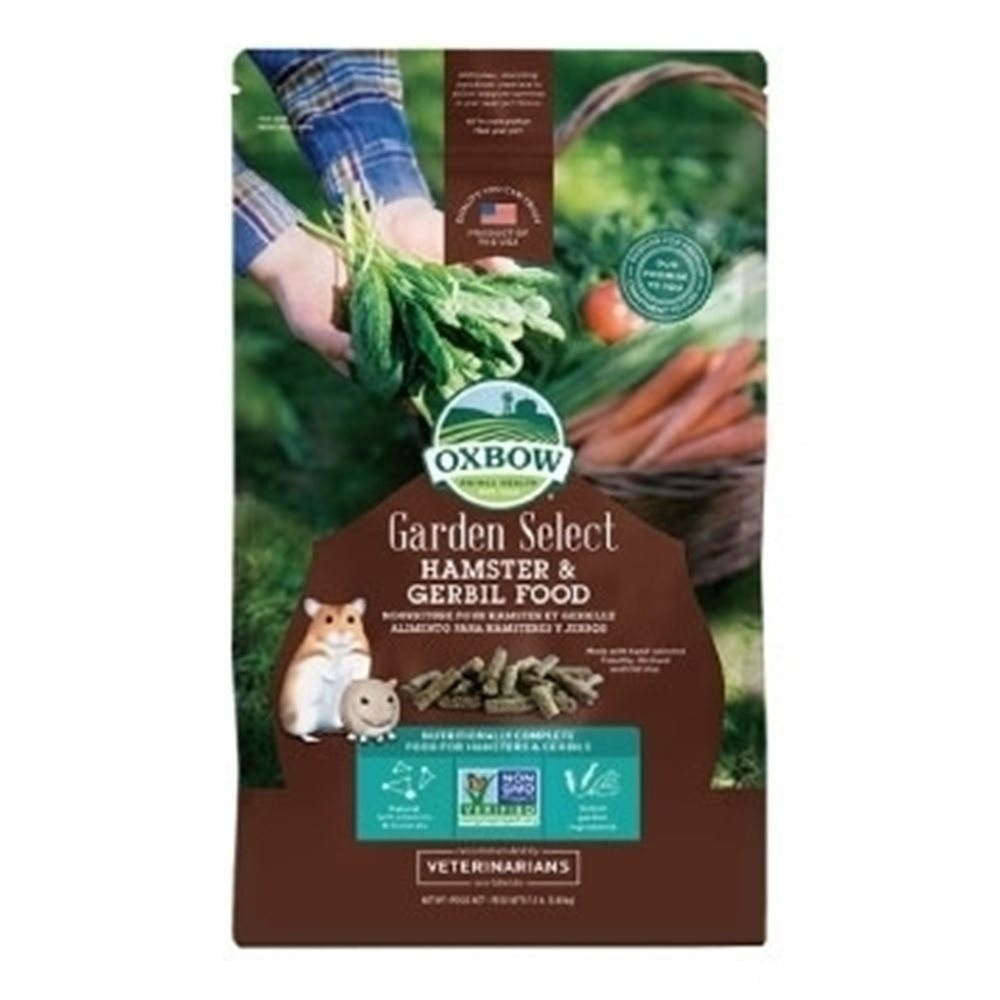 OXBOW-Garden Select Hamster & Gerbil FOOD田園精選非基改倉鼠飼料 1.5lb(0.68KG)