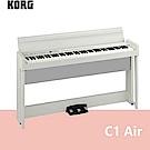 【KORG】C1 Air / 新一代日製88鍵掀蓋式電鋼琴 白色款 / 公司貨保固
