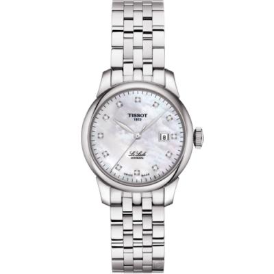 TISSOT Le Locle 力洛克 優雅機械鑽錶(T0062071111600)