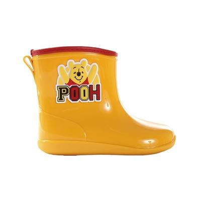 魔法Baby 兒童雨鞋 台灣製迪士尼小熊維尼正版短筒雨鞋 sd3259