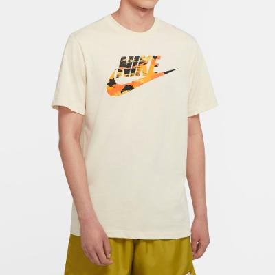 NIKE 短袖上衣 慢跑 健身 休閒 運動 男款 黃 CU8915238 AS M NSW TREND SPIKE TEE