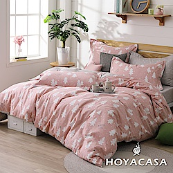 HOYACASA叢林童話 單人200織抗菌精梳棉兩用被床包三件組