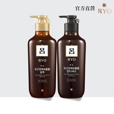 RYO 呂★全新升級 黑豆蓬鬆健髮系列 400ml(洗髮精/潤髮乳)