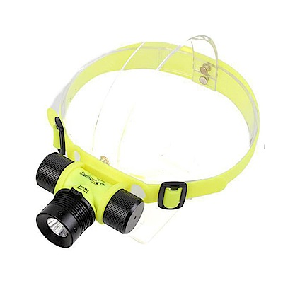 iSFun 運動戲水 防水三檔LED彈性頭燈