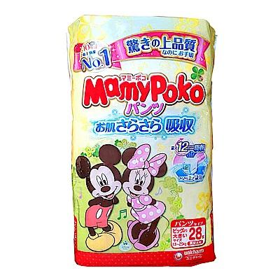 MAMYPOKO 黃色米奇日本境內版褲型 XXL 28片*3包/箱