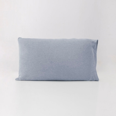 ROOTS有機棉枕套(一組二個)-灰