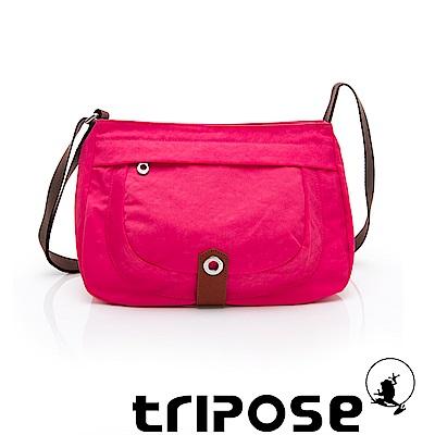 tripose 微旅系列淑女側肩包 桃紅