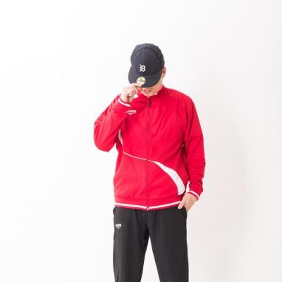V.TEAM-男款針織外套-紅