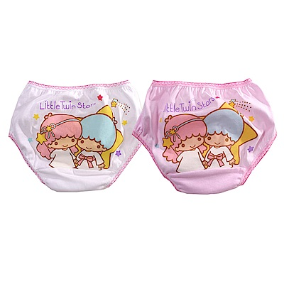 雙子星卡通純棉三角內褲(四件一組) k50959 魔法Baby