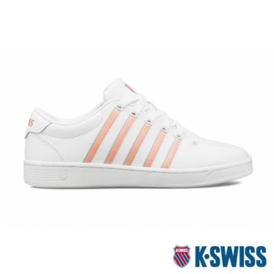K-SWISS Court Pro II CMF時尚運動鞋-女-白/粉橘