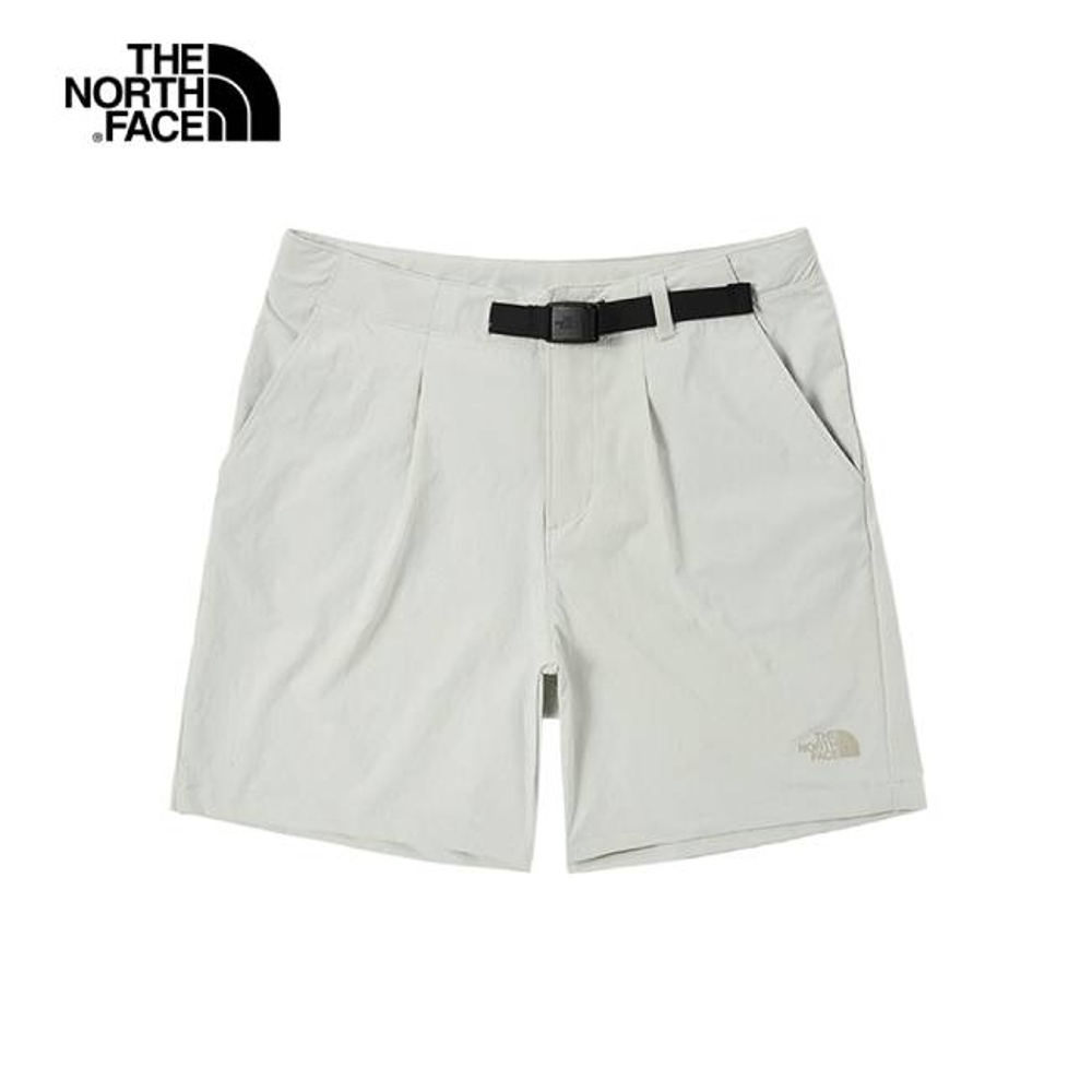 The North Face 女 吸濕排汗短褲 米白-NF0A496O9B8 product image 1