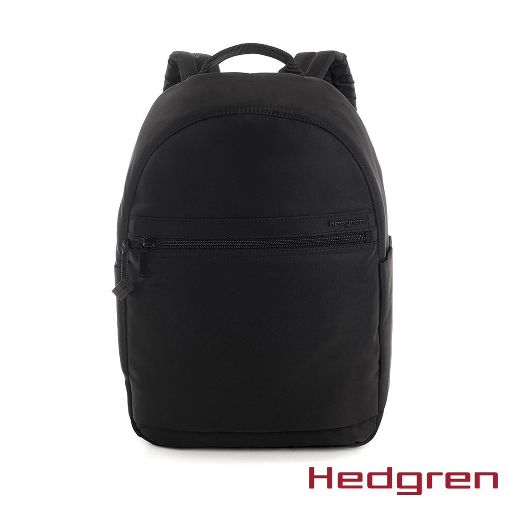【Hedgren】墨黑休閒後背包 - HIC11 (XL)