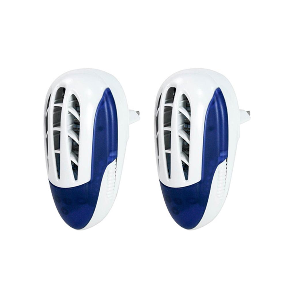 (2入組)KINYO UVA電擊式長效滅蚊捕蚊燈(KL-7011)壁插設計 @ Y!購物