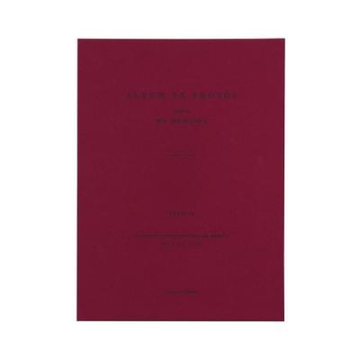 ICONIC 典藏時光4X6相本(100張)-酒紅